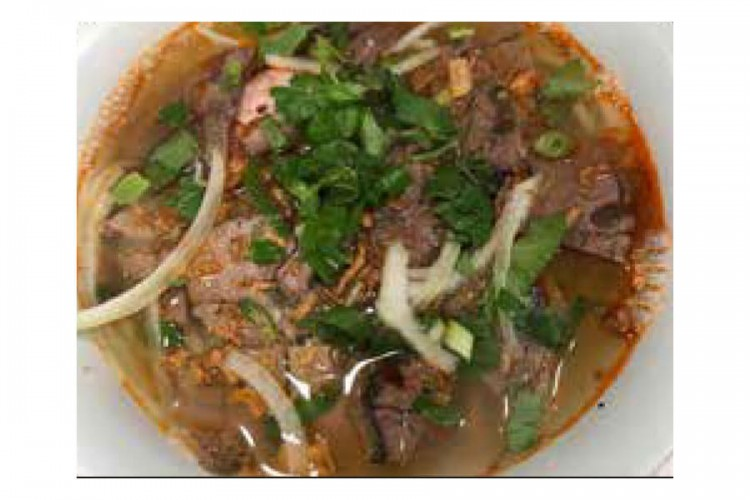 Soupe porc pimenté