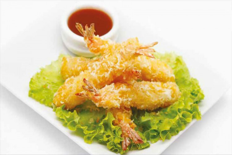 Beignet de crevettes façon tempura (6...