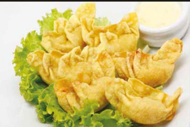Croquettes de crevettes frits (6 ps)